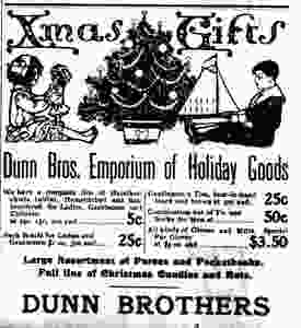Dunn Brothers Christmas Ad