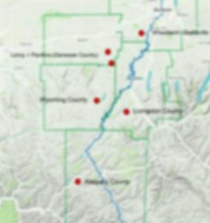 Genesee Valley Region Map