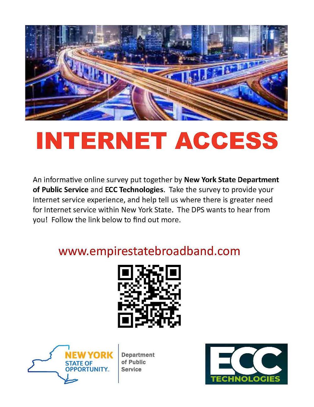 Internet service experience survey
