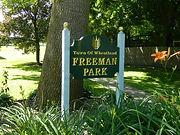 Points of Interest Freeman Park in Mumford