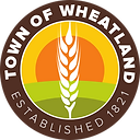 Smaller Town of Wheatland Logo without b