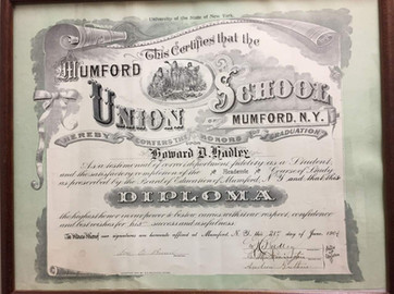 Mumford School Diploma
