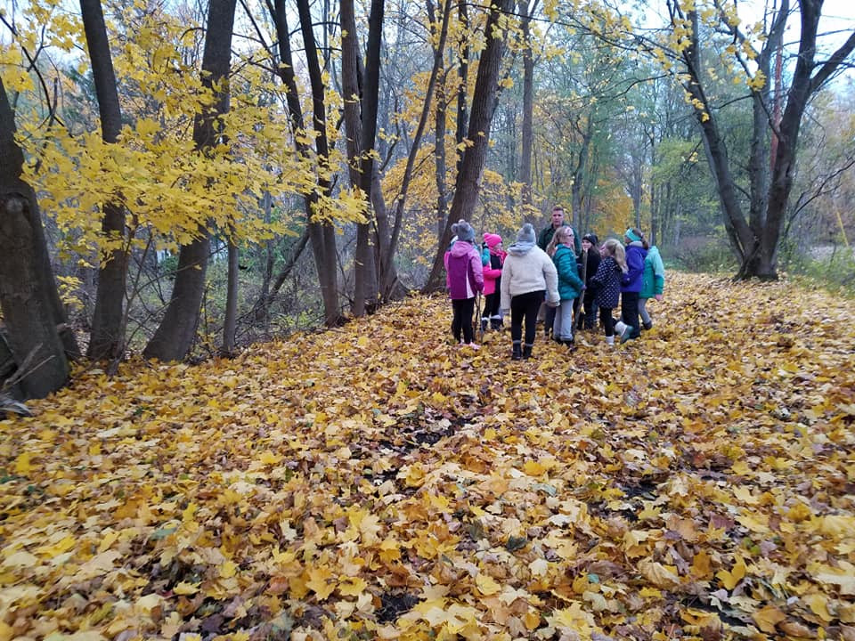Hiking and Learning on the Greenway