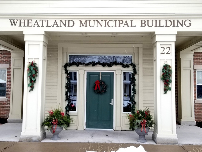 Town of Wheatland Holiday Schedule