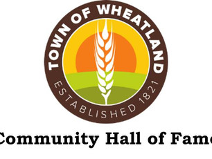 Community Hall of Fame Nominations Close 30-Sep