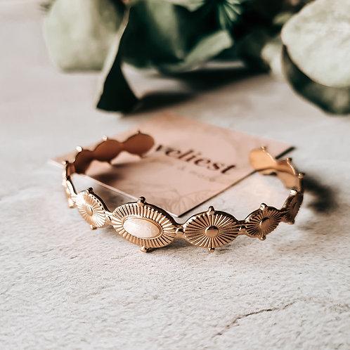 Armband bangle - wit