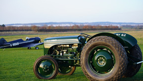 RAF Tractor Restored for Eshott Airfield