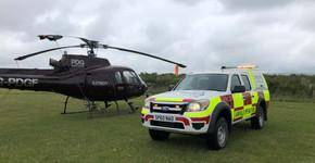 New responce vehicle @ Eshott Airfield