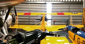 Hangar57 starts at Eshott Airfield