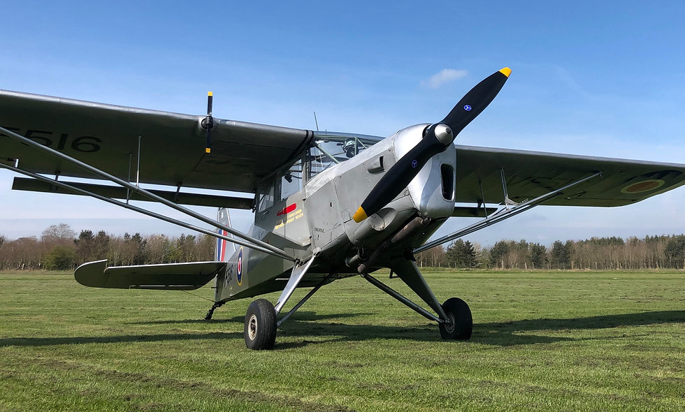 E Voucher 30 Minute Auster Flight