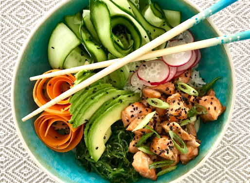 Recept: Vietnamese Poké bowl
