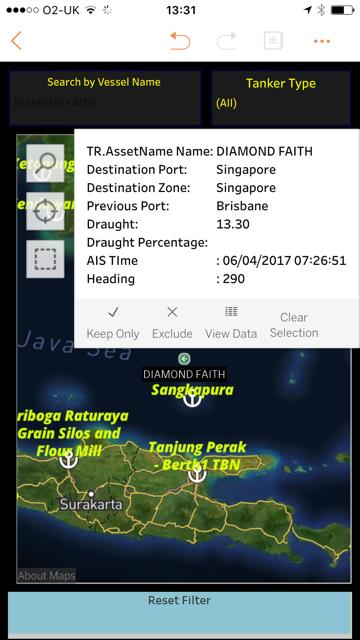Global Vessel Search (AIS)
