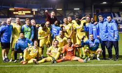 Woking FA Cup 2nd Round Win away to Bury