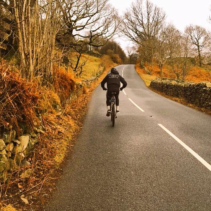 Hill Climbs on the bike in the Lake District