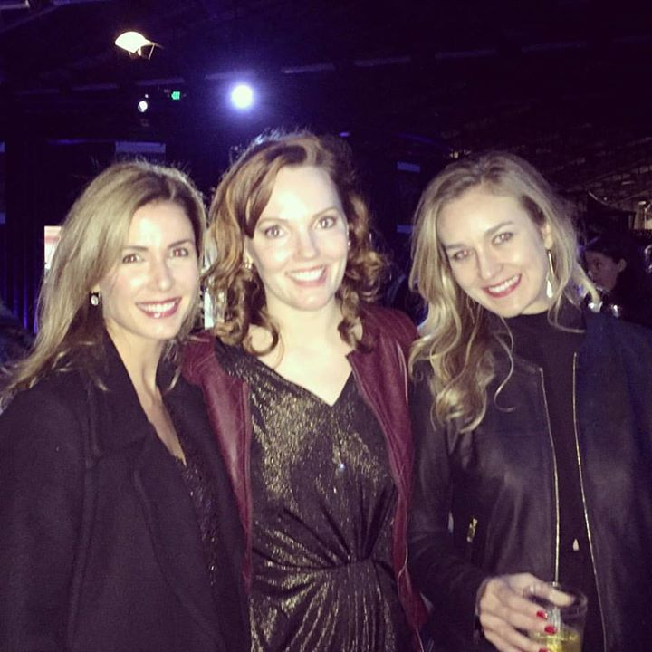 Sparkling with my lovelies at the Mama Hope Silver & Gold Party last night! Thanks to _lauren_winelu