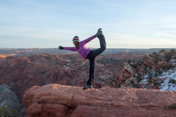 Canyonlands Yoga Pose