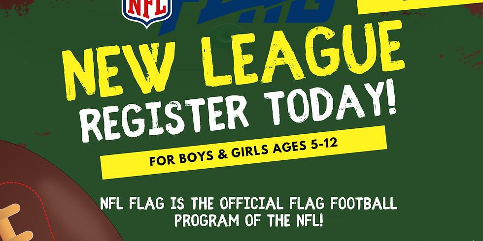 NFL FLAG Football @ The Riley Youth Club