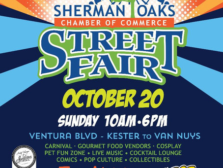 Join us October 20th in Sherman Oaks!