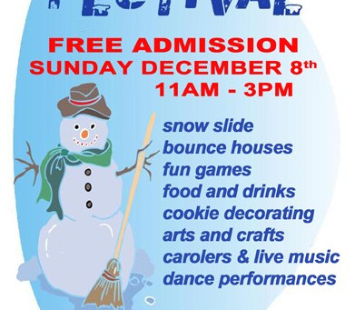 Join us at the Snowflake Festival!