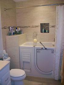Bath Remodel for Walk-in Tub