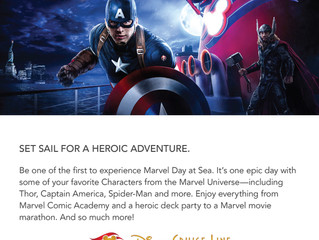 Offer - MARVEL Day at Sea
