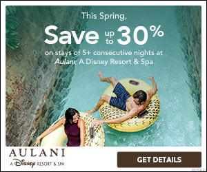 Aulani Spring Savings