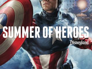 Summer of Heroes in Disneyland