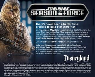 Star Wars Season of The Force