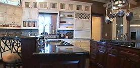 Multi-Color Multi-Layer Kitchen