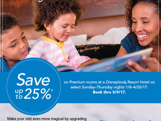 Offer - Save up to 25% on Disneyland® Premium Rooms