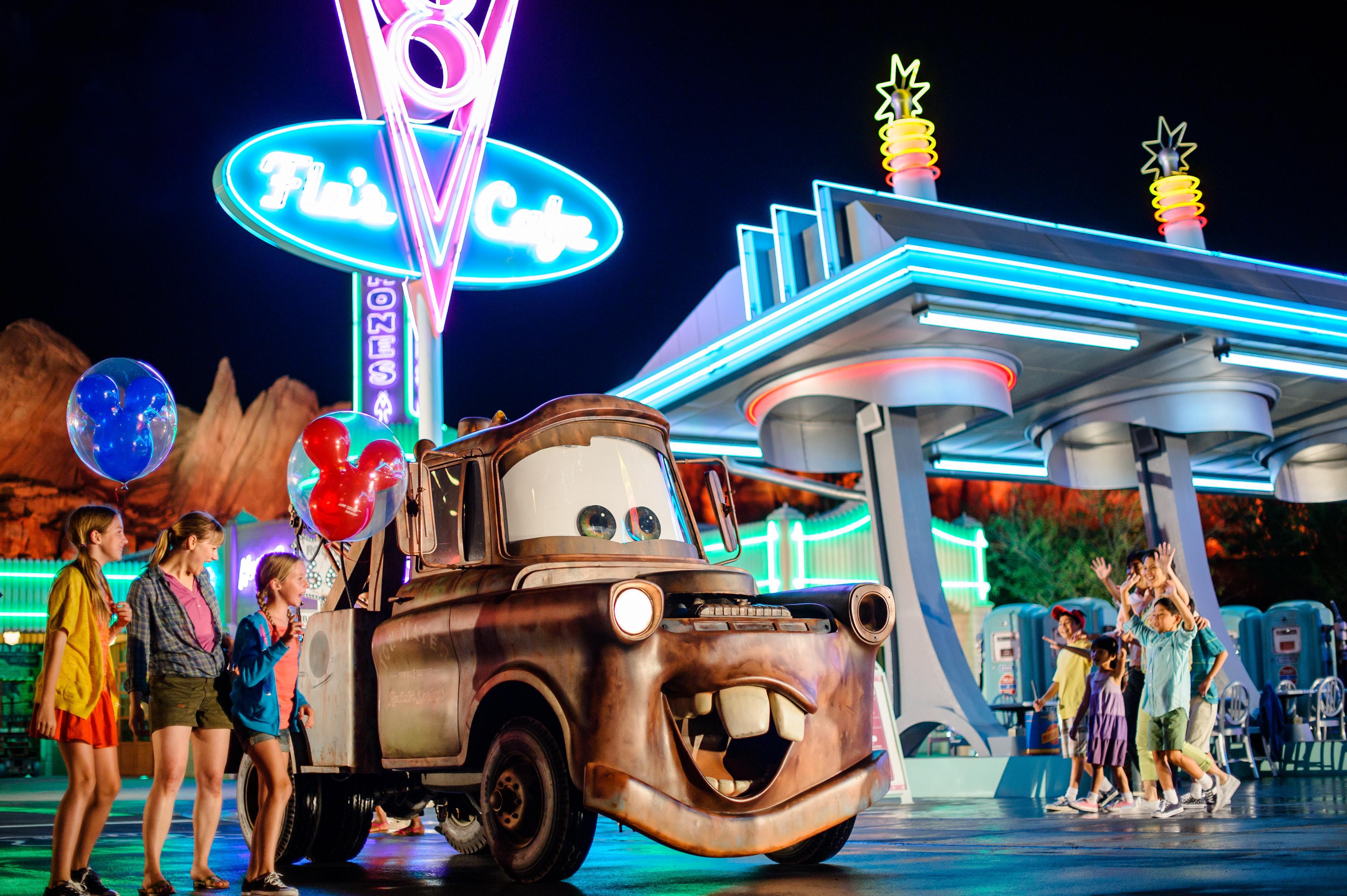 Disneyland® Carsland