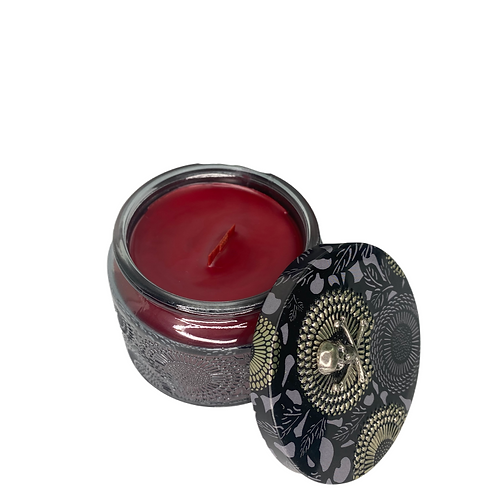 Desi Tutoes Wooden Wick Candle
