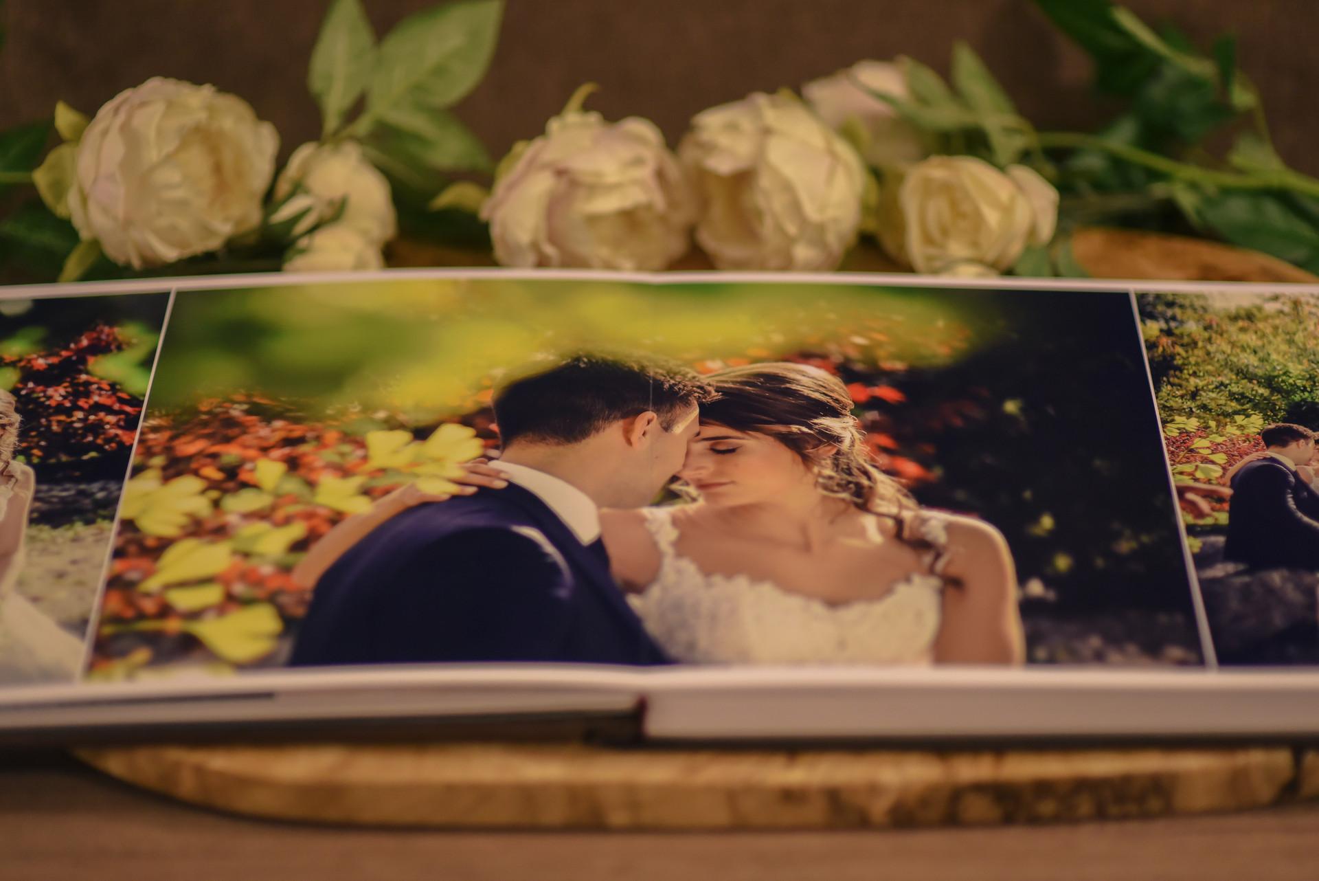 Lay flat | Wedding book | Albumi Handicraft