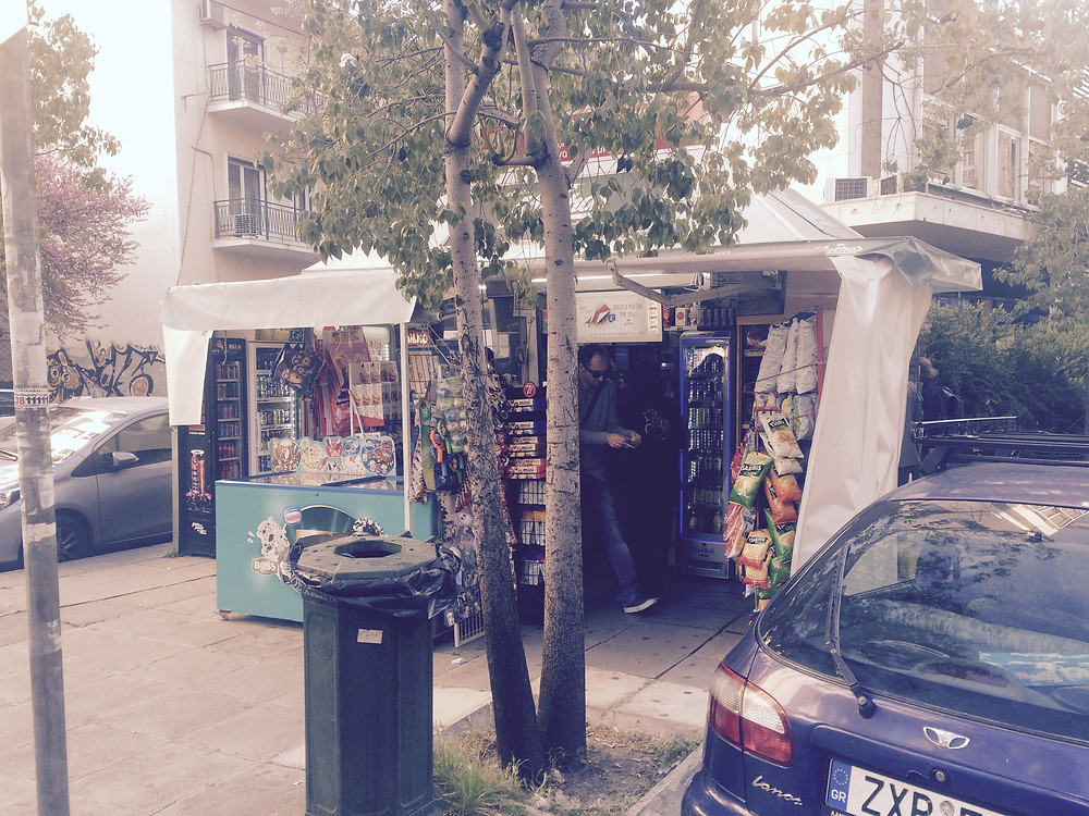 Athens city council launches street kiosk clean up