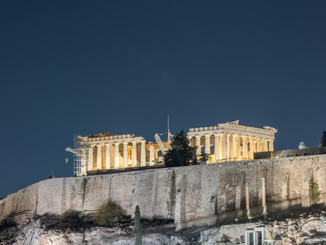 How much does a view of the Acropolis cost?