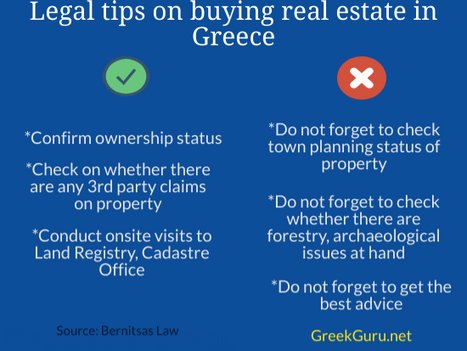 Legal tips to prevent costly mistakes on Greek real estate