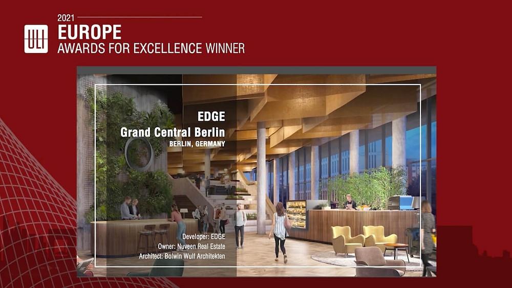 EDGE, Grand Central, Berlin, Germany