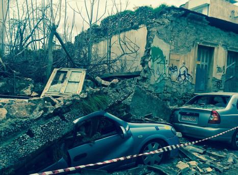 Greece's crumbling treasure of homes