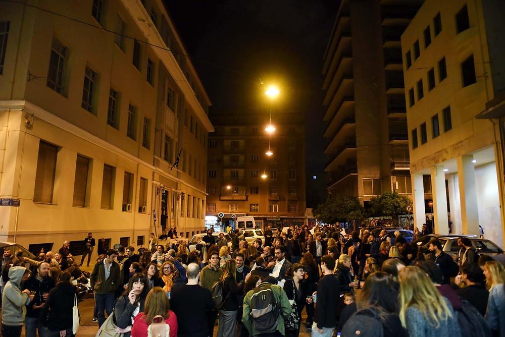 Next hot neighborhood in Athens? Plateia Theatrou