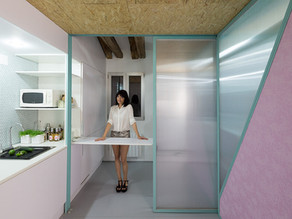 Architects Elii use secret trap doors to turn attic into livable space (video)