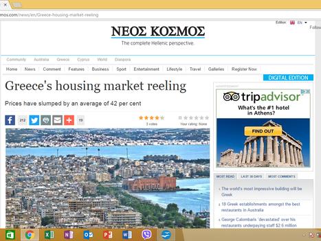 The Greek Guru in Australia's Neos Kosmos newspaper