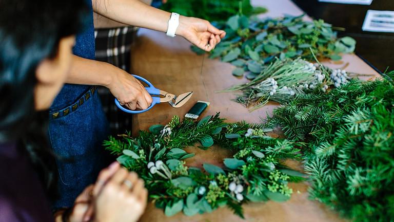 Christmas Wreath / Table Decoration Workshop