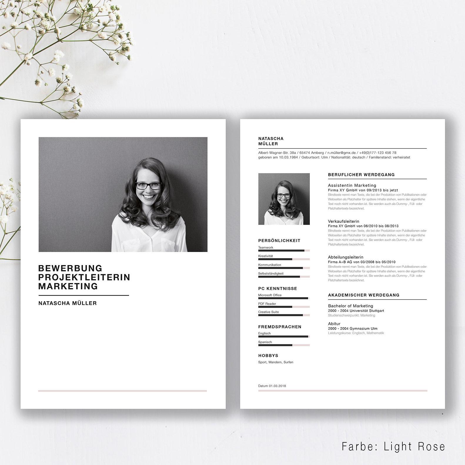 Tolle Vorlagen Für Persönliche Website Fotos - Beispiel ...