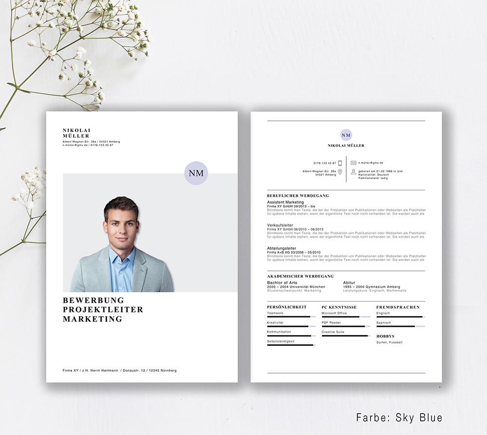 Bewerbungsvorlage Style File