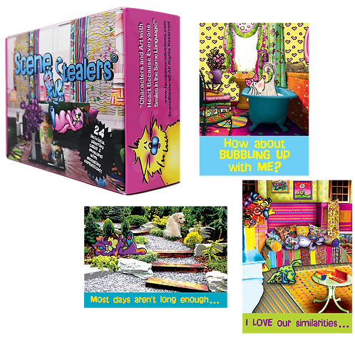 Scene Stealers Greeting Card Gift Set