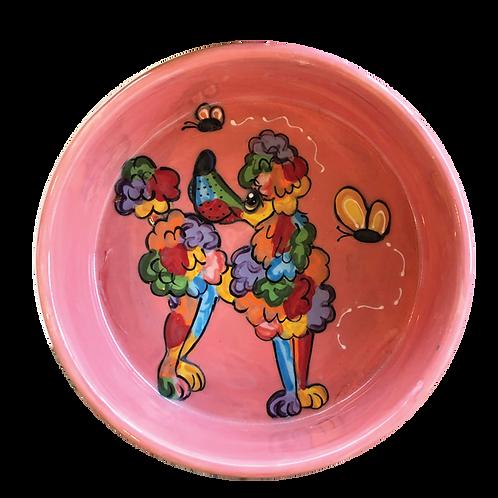 Poodle Rainbow Palz Bowl