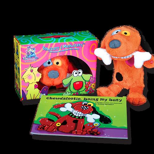 Chewdalootie© Book & Hand Puppet Gift Box Set