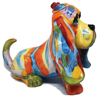 Basset Hound Tea pot