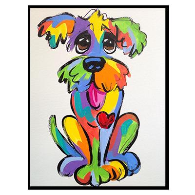 Rainbow Palz Painting
