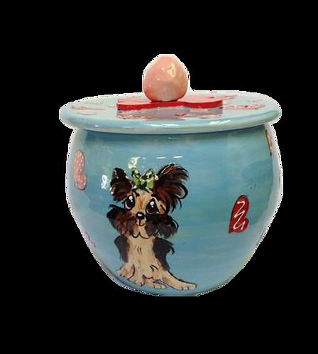 Yorkie Treat Jar